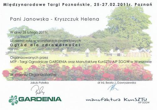 W Gardenia 2011