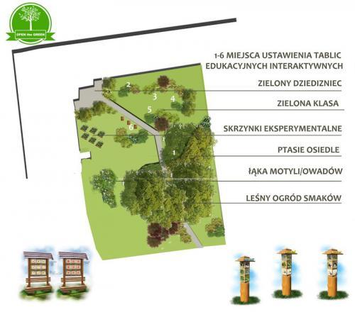 ogród Korczew szkoła
